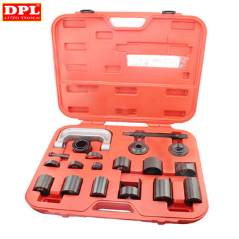 New 21 pcs Ball Joint Auto Repair Remover Install Adapter Tool Set Service Kit for kobelco sk200 6 center joint seal repair service kit excavator oil seals 3 month warranty