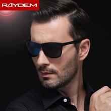 Aluminum Magnesium Men Sunglasses Black Polarized Mirror Resin Male Travel Eyewear