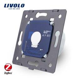 Livolo Basis Van Touch Screen Zigbee Schakelaar Wandlamp Smart Switch, Zonder De Glazen Paneel, Eu Standaard, ac 220 ~ 250 V, VL-C701Z