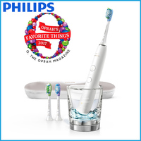 Philips Electric Rechargeable toothbrush for Complete Oral Care DiamondClean Smart White Patient Pack hx9984 Genuine