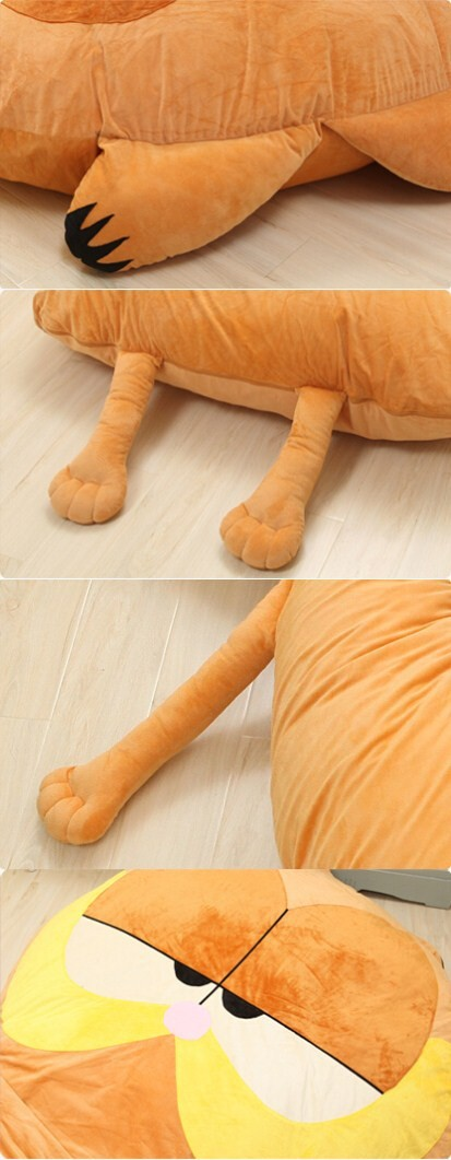 Fancytrader 220cm X 150cm Huge Giant Cute Garfield Bed Carpet Sofa Tatami, Great Gift! Free Shipping FT90351 (5)