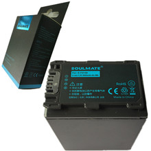 NP-FH100 NP FH100 Digital Camera Battery NPFH100 For Sony SR42E 46E 60 62E 65E 82E 85E 200E 220E 300E