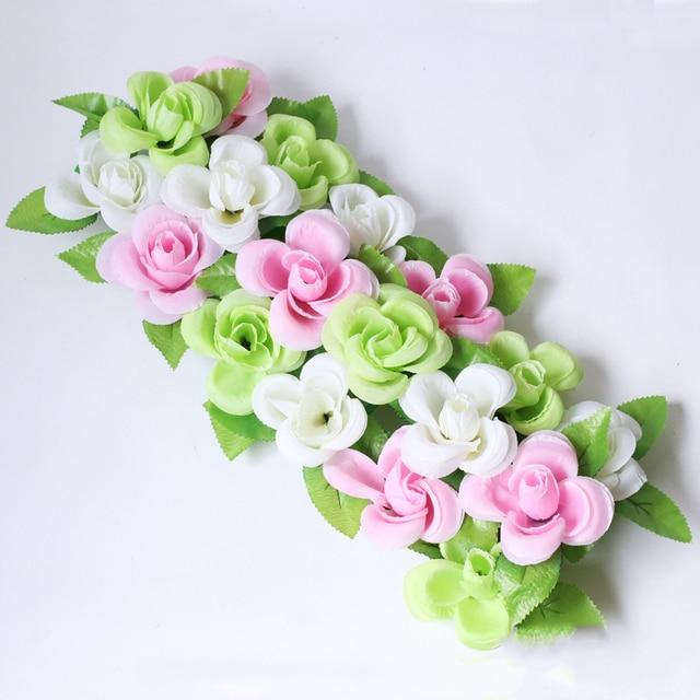 Artificial Rose Flower Heads Silk Decorative Flower DIY Hotel ...