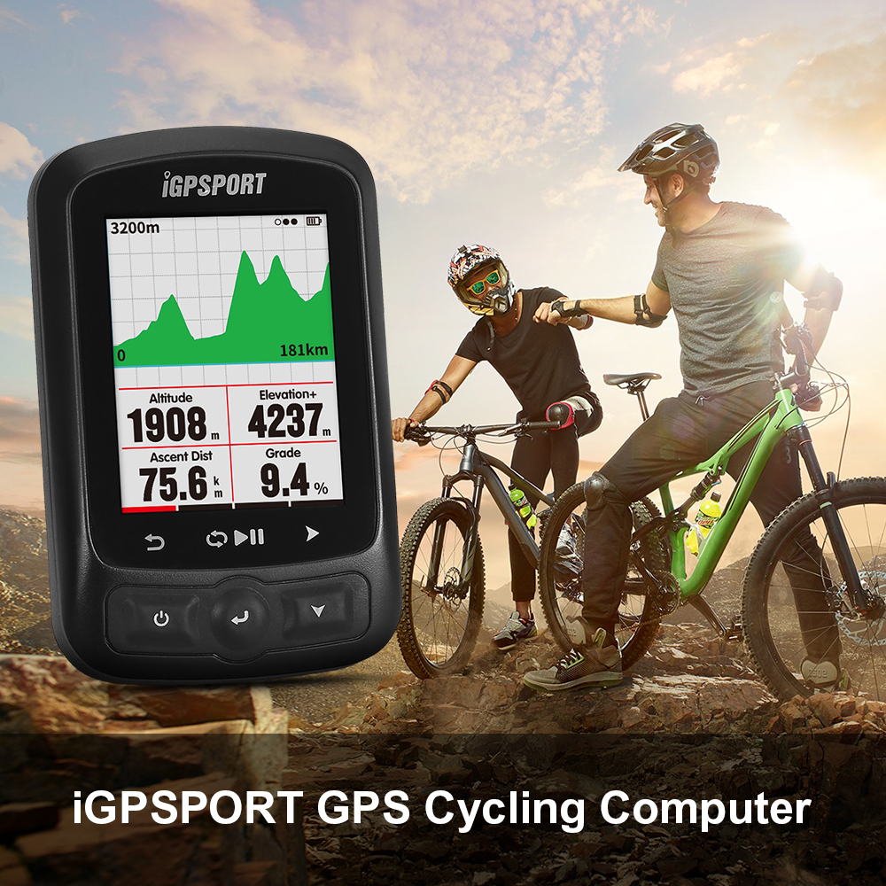 2.2inch Speedometer For Bicycle Computer Wireless <font><b>GPS</b></font> Cycling ANT+ Function with Road <font><b>Map</b></font> <font><b>Bike</b></font> Navigation Odometer with Mount image