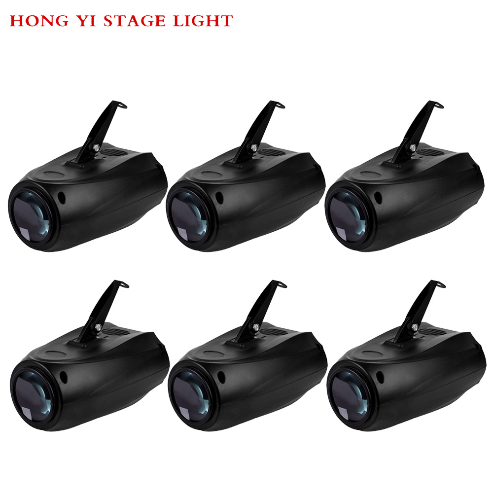 6pcs/lot Magic Pattern Change Stage Light Projector 64 RGBW LED Beam Moonflower Effect Lights For Xm
