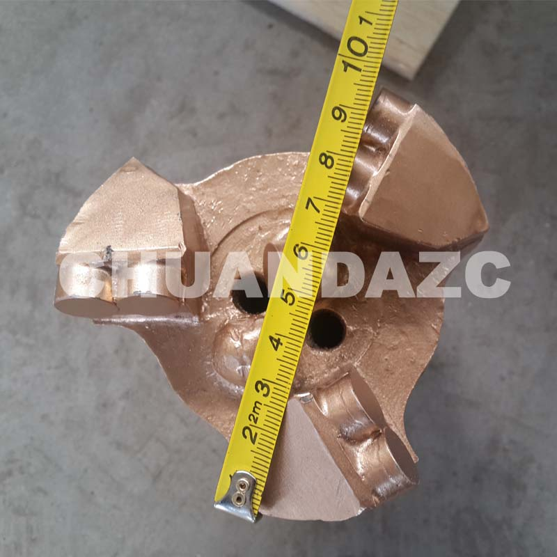 98mm PDC drag bit for water drilling 98