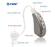 Innovative products 2018 Ear Deaf Open Fit Digital Hearing Aid with 4 channels MY-19S frecuencimetros digitales Drop Shipping