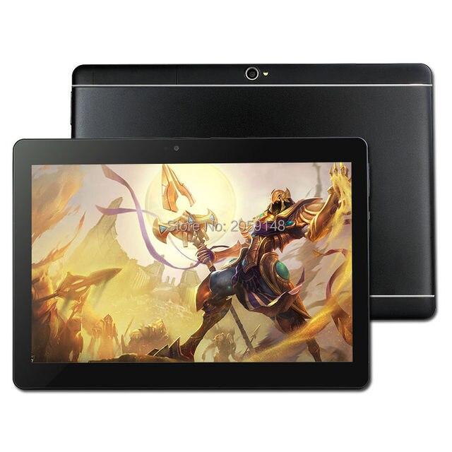 4 г LTE S109 Android 6.0 10 дюймов планшетный ПК Octa Core 4 GB RAM 64 GB Встроенная память 8 ядер 5MP IPS лучший подарок для детей Планшеты компьютер MTK8752