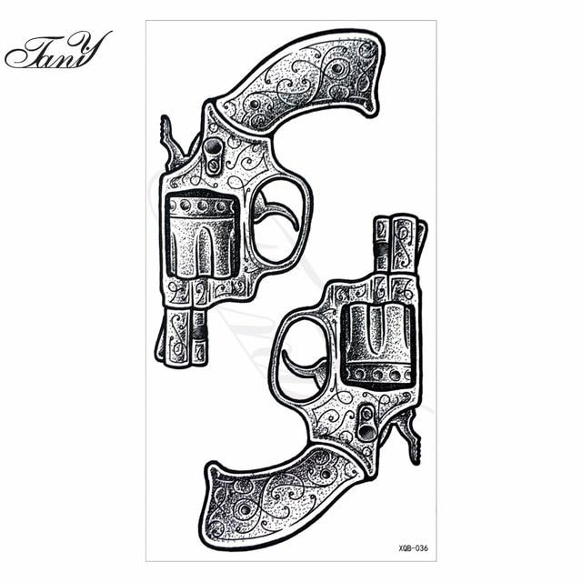 Revolver Tatuaje 2017 new models waterproof temporary tattoo revolver tatoo henna
