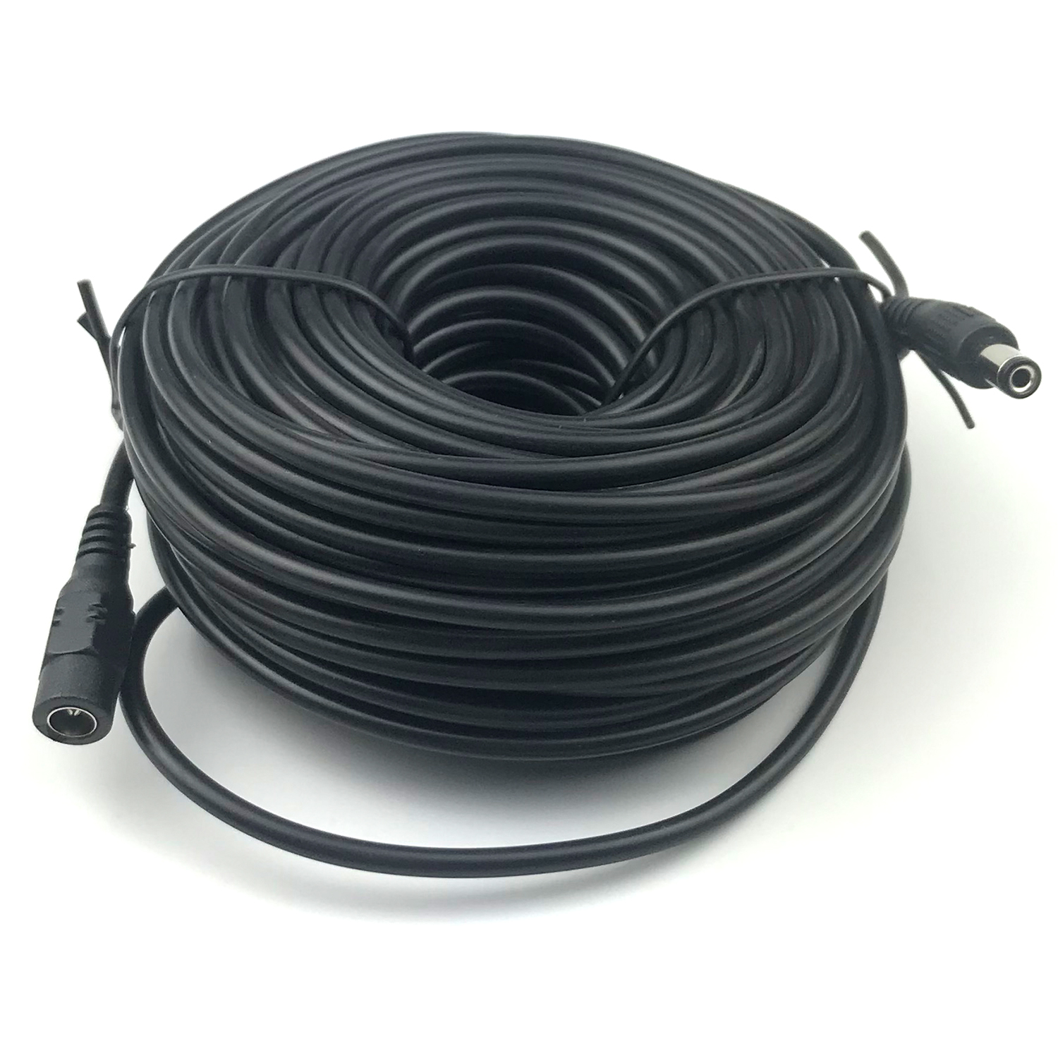 Uvusee Cctv 20meters 2.1x5.5mm Dc 12v Power Extension Cable For Cctv Security Cameras Audio Camera Ip Camera Dvr Standalone