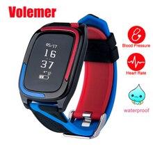 Volemer IP68 водонепроницаемый DB05 смарт-браслет Watche измерять кровяное давление фитнес трекер монитор сердечного ритма Смарт-браслет для IOS Android