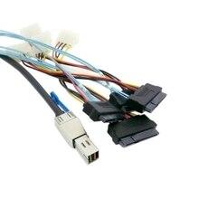 10pcs/lot External Mini SAS HD 4x SFF-8644 to 4 SAS SFF-8482 29PIN 6Gbps Hard Disk data server Raid Cable 1.5m,By Fedex