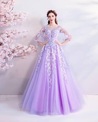 Purple Fashion Marriage