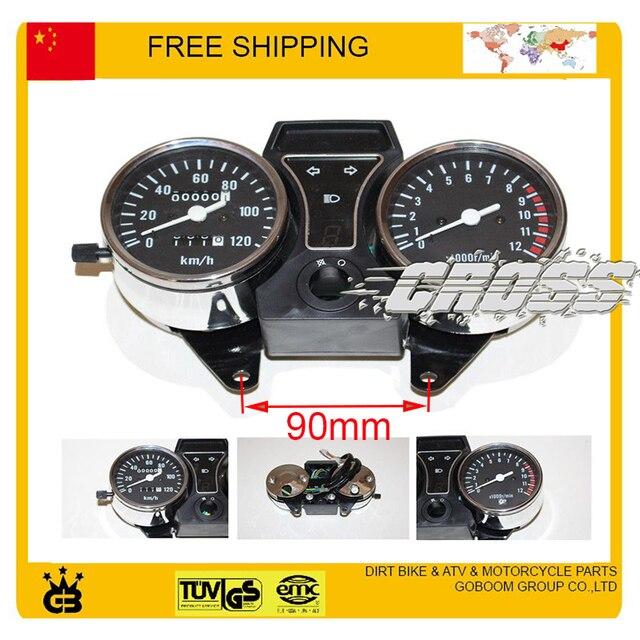 ZONGSHEN LONCIN LIFAN JIALING DAYANG motorcycle speedometer 120KM electronic speed sensor free shipping
