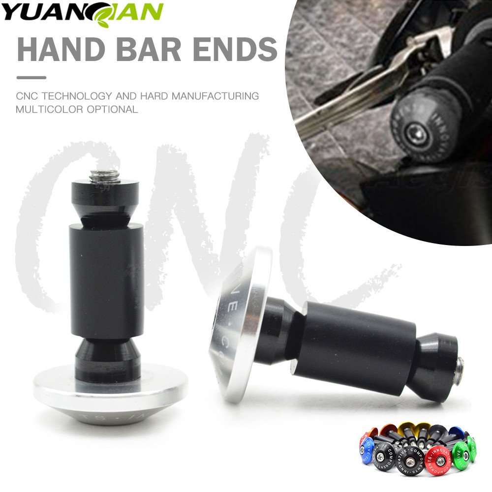 7/8''22 motorcycle handlebar cap motocross handle bar grips ends For Honda CB600F CB 600 F cb600f Hornet CBR600F CBF600SA