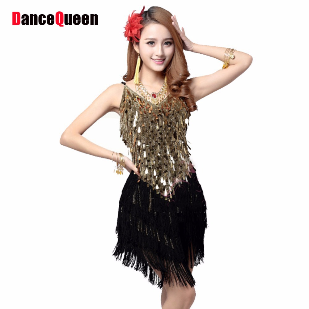 Sexy Vintage Roaring 20s 1920s Gatsby Girl Ladies Flapper Dance Costumes Dress Female Party City For Great In Latin From Novelty Special Use
