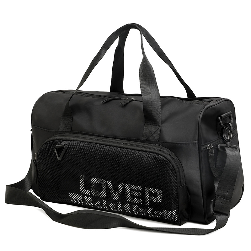 Men Large Travel Bag Women Duffel Bags Carry On Luggage Weekend Handbag Dry Wet Separation Waterproof Travelling Pack XA143K