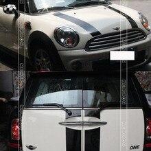 Капот + Задние наклейки (6 шт./компл.) Для mini cooper s clubman R55 наклейка авто стайлинг