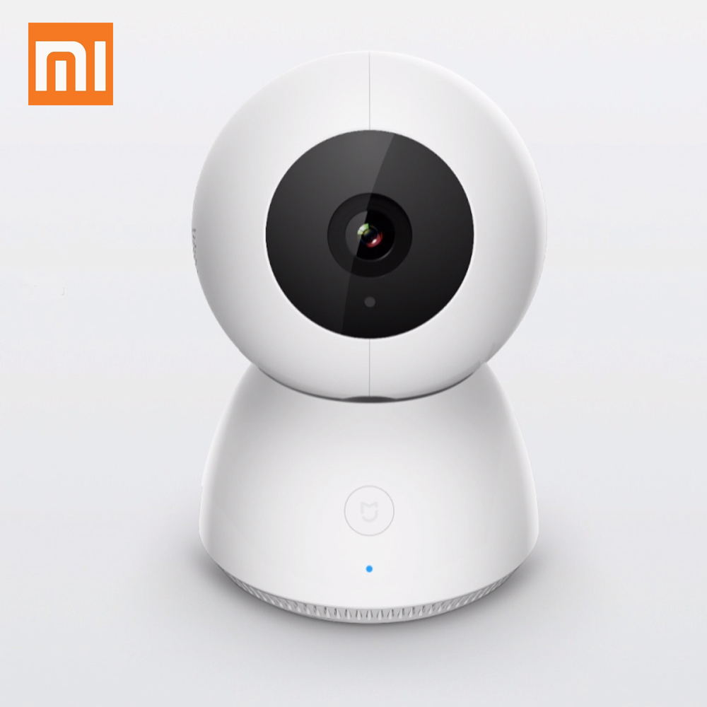 Original Xiaomi Mijia Smart Camera 1080P Night Vision Webcam IP Camera Camcorder 360 Angle Panoramic WIFI Remote control keyshare dual bulb night vision led light kit for remote control drones