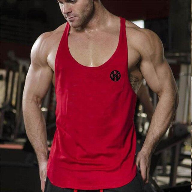 c320bf54d8923b Muscleguys Brand Gyms Tank Tops Mens Undershirt Sporting Wear Bodybuilding  Men Fitness Exercise Clothing Vest Sleeveless Shirt