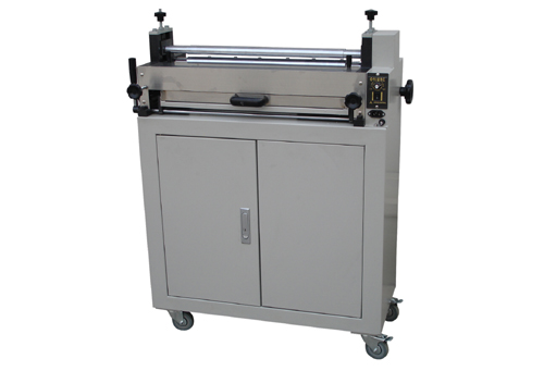 Professional 500mm Electric glue machine for paper, photo, flyers, <font><b>PVC</b></font> <font><b>sheet</b></font> image