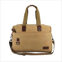 Large capacity canvas retro sports handbags factory direct specials shoulder men and women gym bag to be produced bag