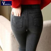 New Fashion Ladies Casual Stretch Denim Jeans 2017 Hot Leggings Jeggings Pencil Pants Thin Skinny Leggings Jeans Womens Clothing