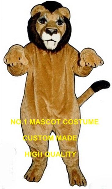 Nouveau costume de mascotte lion haute qualité personnalisé leon lion thème anime cosplay costumes fursuit carnaval déguisements kits 2779