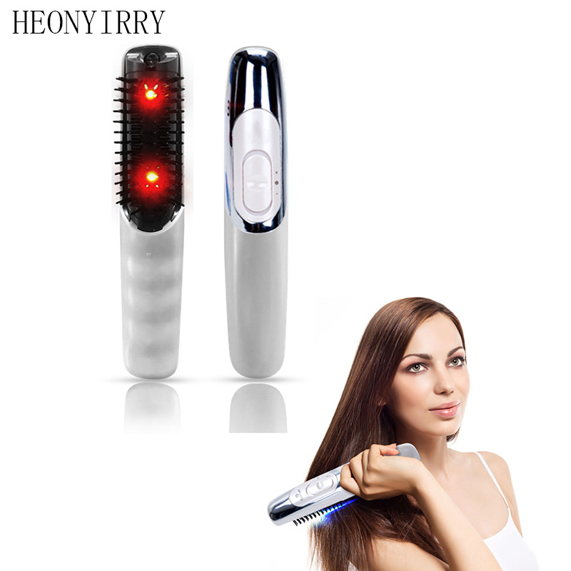 Laser treatment Comb Stop Hair Loss promotes the of new hair growth Regrowth Hair Loss Therapy vibrator Head Massager cold laser therapy device daily health care massage hair regrowth laser comb
