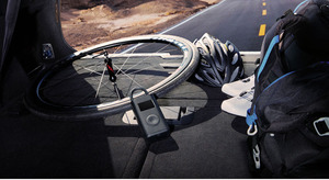 Image 4 - Nieuwste Xiaomi Mijia Draagbare Smart Digitale Bandenspanning Detectie Elektrische Inflator Pomp Voor Fiets Motorfiets Auto Voetbal