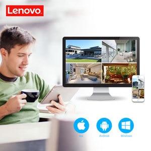 Image 4 - LENOVO 1080P POE NVR Kit 2.0MP HD CCTV Security camera System Audio monitor IP Camera P2P Outdoor Video Surveillance System