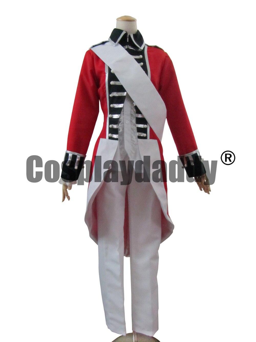 Axis Power Hetalia Arthur Kirkland Cosplay Costume