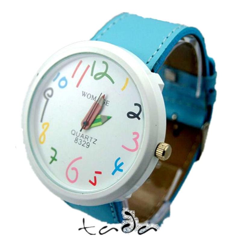 υψηλής ποιότητας καρτούν μολύβι χέρι - Γυναικεία ρολόγια - Φωτογραφία 5