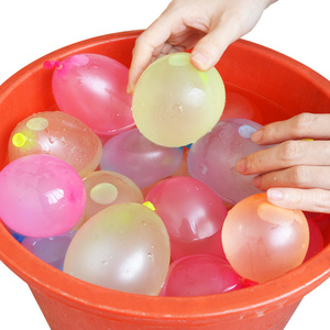 120pcs Colorful Water Balloons Boom For Wedding Party children Party Decoration Hot Summer Sands Beach Water Balloons Boom Toys
