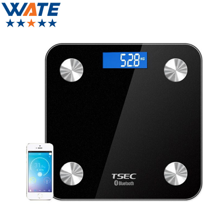 ФОТО Original  Smart Weighing Scale Support Android 4.3 iOS7.0 Bluetooth4.0 Losing Weight Digital Scale Body Fat Scale