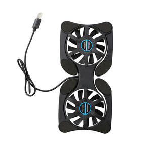 Cooler Notebook Usb-Cooling-Fan Laptop Double-Fans Mini Foldable Octopus for 7-15inch