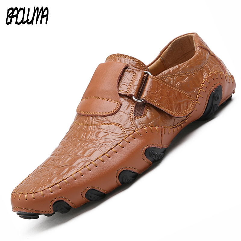 Italy Handmade Leather Mens Shoes Casual Luxury Brand Men Loafers Breathable Breathable Driving Dress Shoes Slip On Moccasins klywoo handmade men leather shoes mens loafers summer autumn moccasins breathable mens shoes casual driving sapato masculino