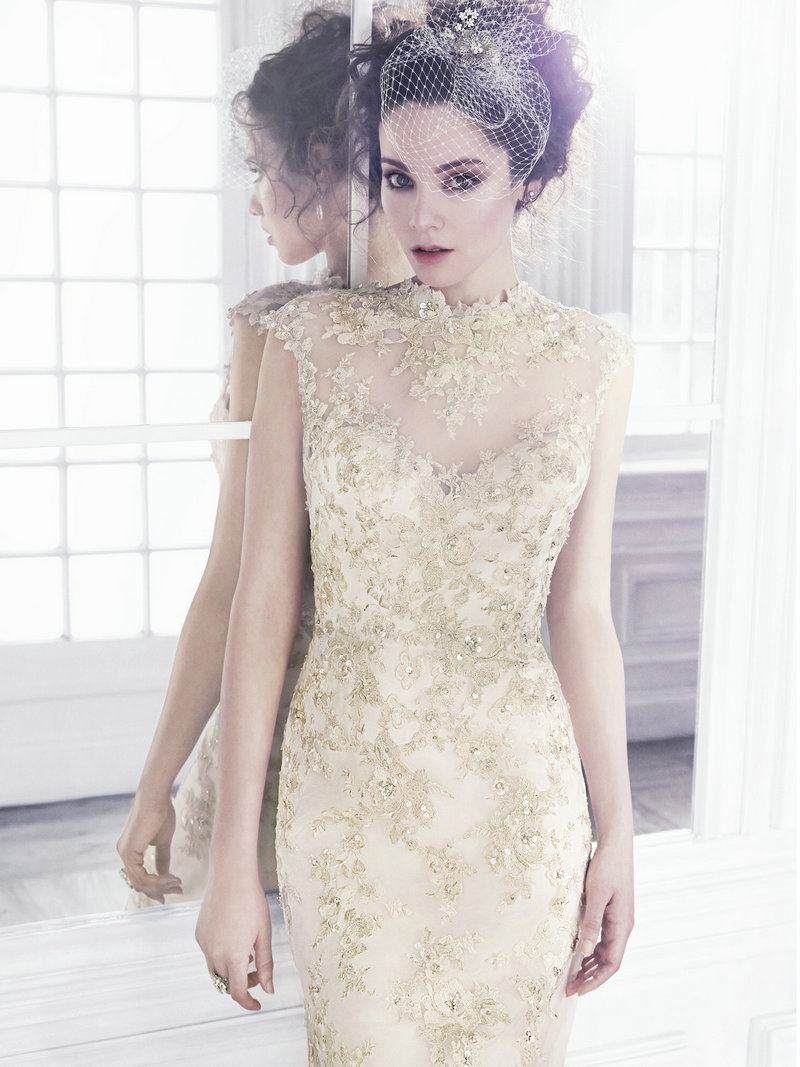 gold and white mermaid wedding dress gold dress for wedding Gold And White Mermaid Wedding Dress Naf Dresses