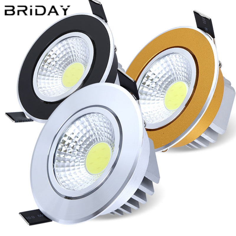 10pcs round Super Bright Dimmable Led round downlight ...