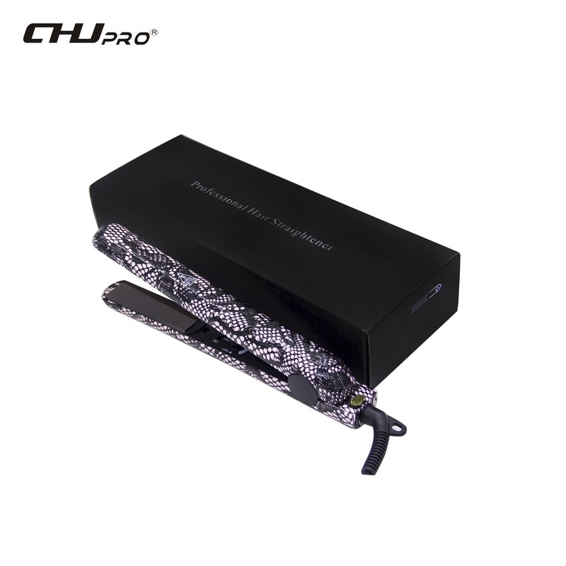 Professional Electric Tourmaline Ceramic Hair Straightener Flat Iron Fast Straightening Irons Styling Tools Hair 110 240v kemei ceramic hair straightener temperature control heating flat iron professional straightening iron styling tools