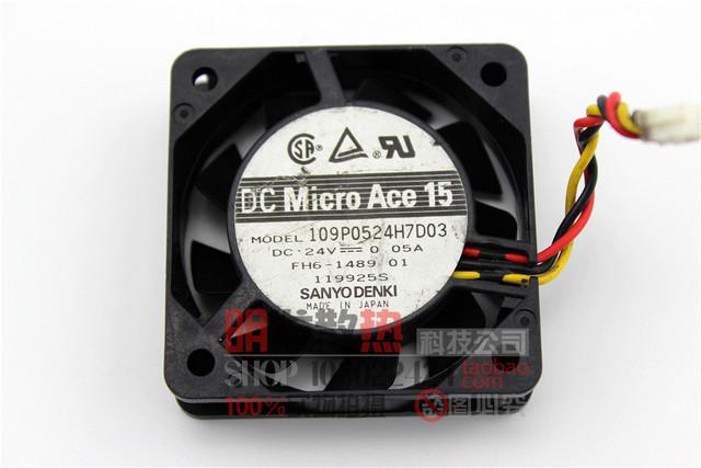 Original 5015 109P0524H7D03 0.05A 24 V inversor del ventilador de refrigeración industrial