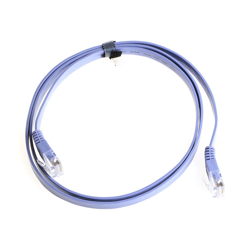 Free Shipping LOT Cat6e RJ45 Ultrathin Flat Ethernet Network LAN Cable Patch Internet 1 To 30M