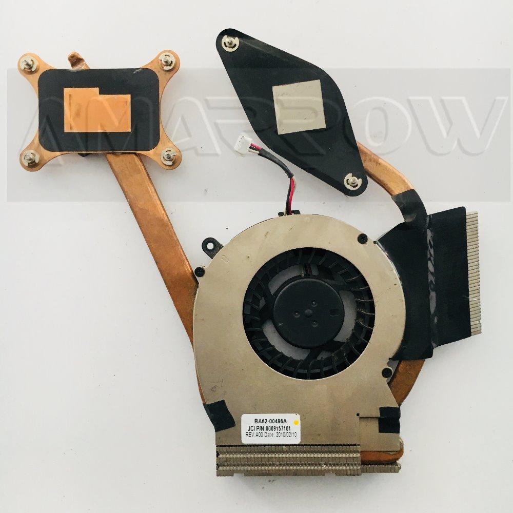 Original For SAMSUNG laptop heatsink cooling fan cpu cooler R580 R780 CPU heatsink Fan BA62-00496B BA62-00501A BA81-08489B new laptop cpu cooling fan for samsung dp700a3b 23 aio ba31 00119a