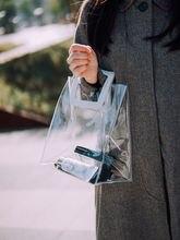 2020 прозрачные сумки из ПВХ сумка тоут для женщин женская покупок