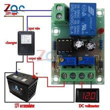 XH M601 tablica kontrolna do ładowania baterii 12V inteligentna ładowarka zasilania sterowania panel modułu automatyczne ładowanie/Stop mocy