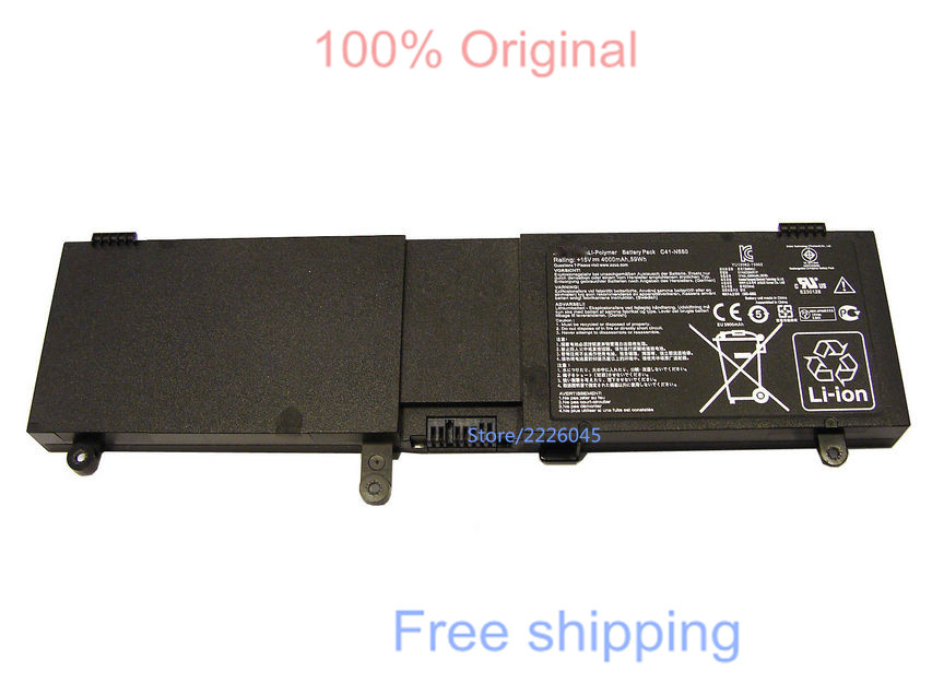 IECWANX 100% new Laptop Battery C41-N550 (59Wh 15V) for ASUS N550 N550J N550JA N550JV N550JK Q550L Q550LF