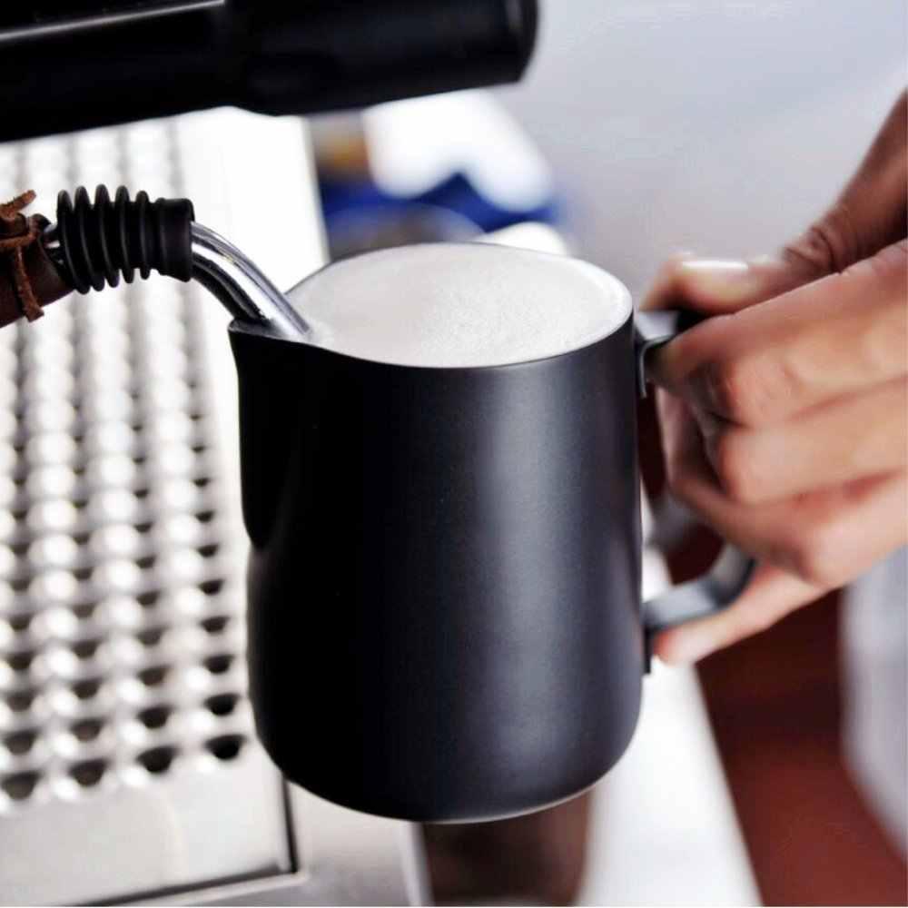 Насадка для взбивания молока кувшин-антипригарное покрытие латте арт эспрессо капучино-пищевая 18/8 нержавеющая сталь