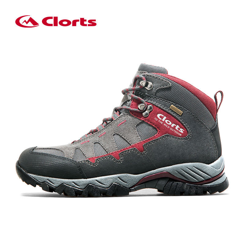 Clorts Outdoor Waterproof Hiking Shoes Breathable Men's Hiking Boots Sport Waterproof Trekking Mountain Climbing Shoes For Men clorts men trekking shoes 2016 waterproof breathable outdoor shoes non slip hiking boots sport sneakers 3d028
