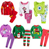 Kids Cartoon Minnie Santa Claus Iron Man Baby Girls Boys Polka Stripe Nightwear Pajamas Set Sleepwear