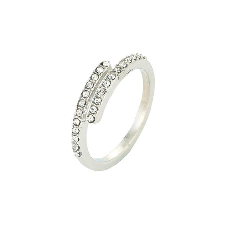 bf160eed9 Boosbiy Fashion Desgin Pandora Ring CZ Clear Pandora Rings For Women  Jewelry Pandora Engagement Gift Luxury